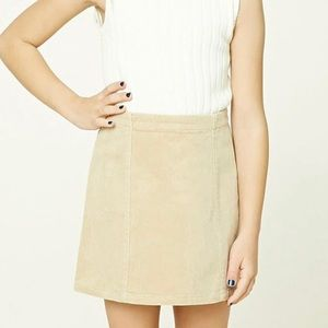 🍓 Forever 21 girls corduroy skirt